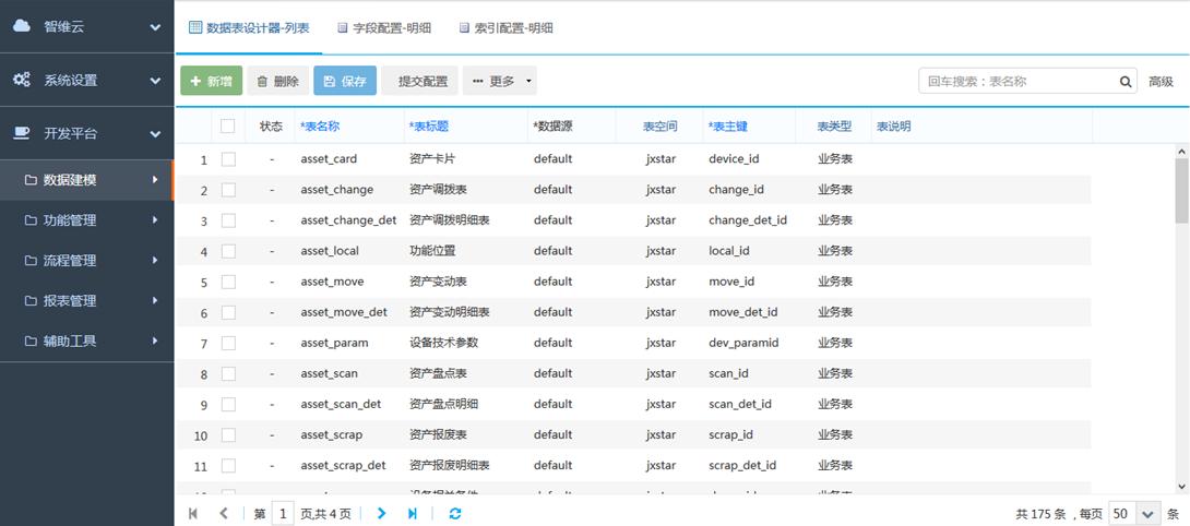 WEB数据建模工具